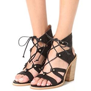 Dolce Vita Luci Perforated Lace Up Sandals